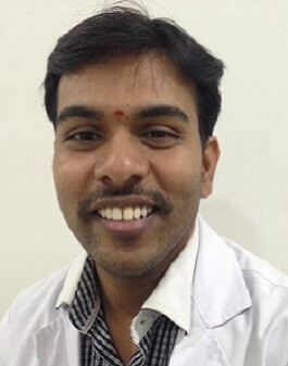 Dr. Ch. Gangadhar, Physiotherapy department at Hyderabad Multispeciality Hospital